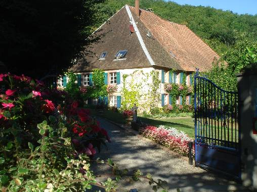 Bed & breakfasts Haut-Rhin, from 190 €/Nuit. House of character, Murbach (68530 Haut-Rhin), Charm, Luxury, Guest Table, Sauna, Jacuzzi, Garden, Park, WiFi, T.V., Baby Kits, Parking, 0 Single Bed(s), 3 Double Bedroom(s), 2 S...