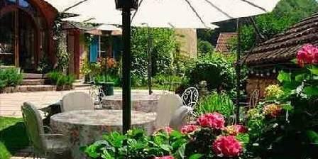 Le Schaeferhof La table d'hôtes en terrasse