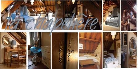 Location de vacances La maison des Lamour > La chambre de la chapeliere