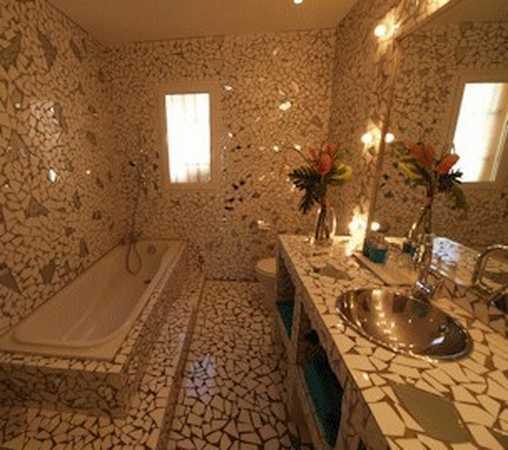 Chambre d'hote Aude - Salle de bain chambre Vénitienne