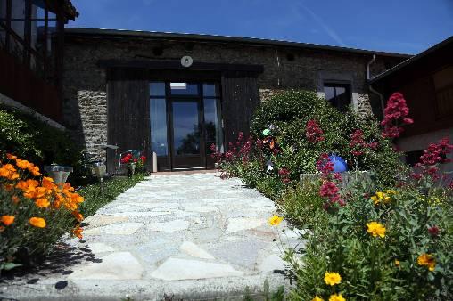 Chambre d'hote Loire - le jardin