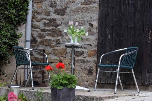 Chambre d'hote Loire - en été