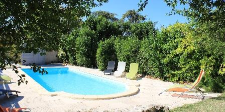 Le Mas des Deux Cèdres La piscine