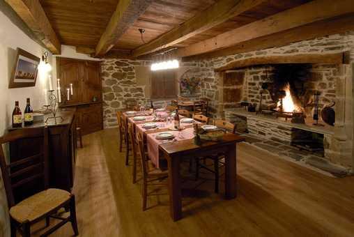 Chambre d'hote Aveyron - Salle à manger