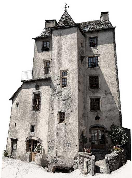 Chambre d'hote Aveyron - Tour des Chapelains  XVè siècle