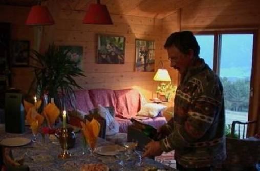 Votre hôte dans la salle à manger