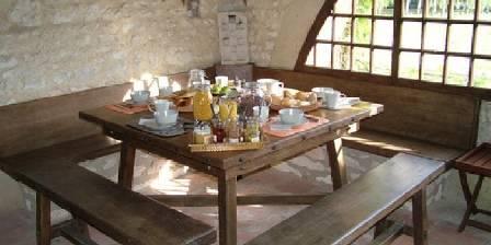 La Bichonnière Le petit déjeuner