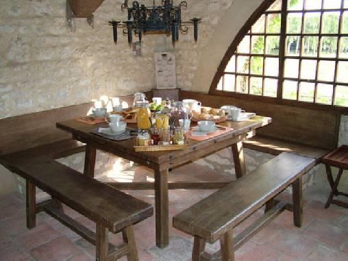 Chambre d'hote Yonne - Le petit déjeuner