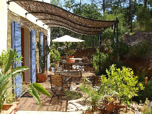 Chambre d'hote Var - Petit déjeuner en terrasse