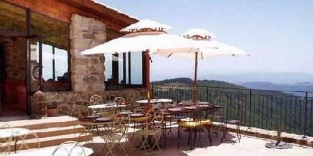 Le Hameau de la Mûre La terrasse et sa vue