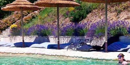 Le Hameau de la Mûre La piscine chauffée (de mai à octobre)
