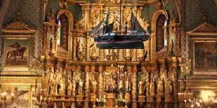 L'église Saint Jean-Baptiste à Saint Jean de Luz