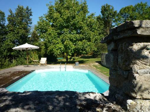 bed & breakfast Oise - The swimming pool