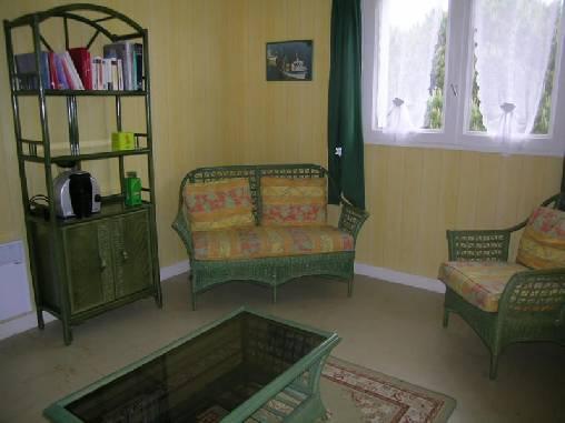 Chambre d'hote Morbihan - Le salon des hôtes