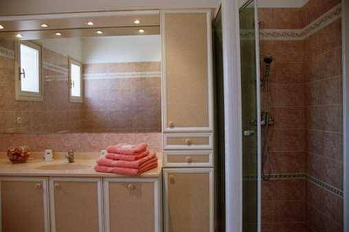 La salle de bain de la chambre Matisse