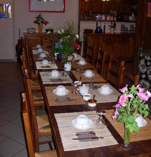 Chambre d'hote Ille-et-Vilaine - Le petit déjeuner