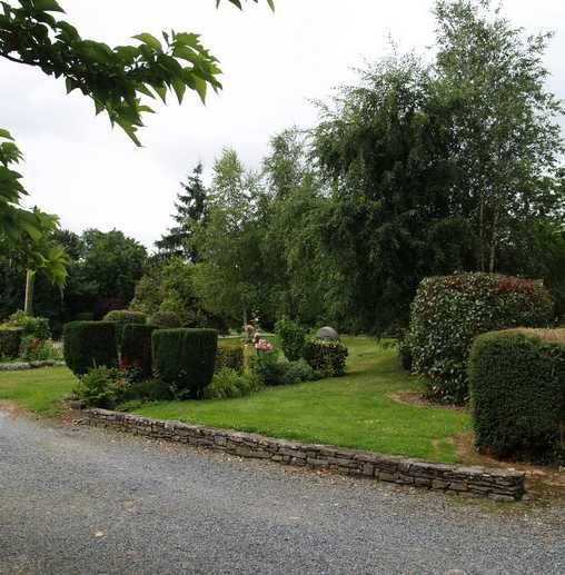 Chambre d'hote Ille-et-Vilaine - Une vue du parc