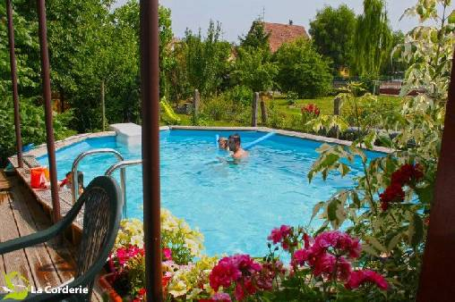 La corderie one bed and breakfast in bas rhin in alsace for Bischwiller piscine