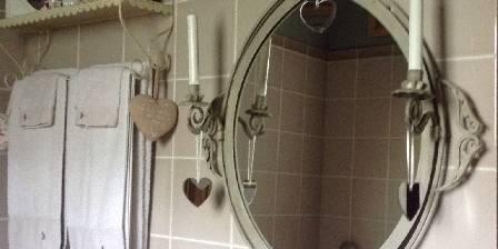 L'Angelerie - BnB Bio à Deauville Salle de bain Cœur d'Art-i-Chaud