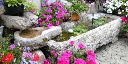 Au Jardin Fleuri LA TERRASSE