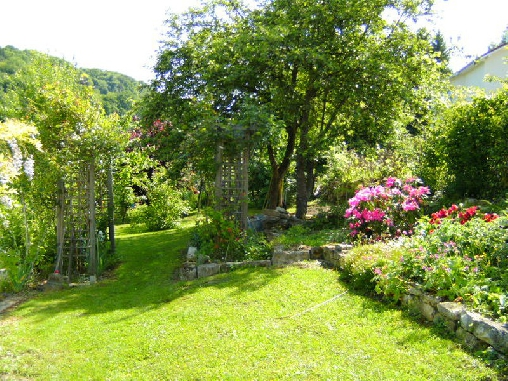 Chambre d'hote Doubs - jardin