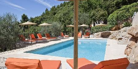 La Bastide O'nhora Swimming-pool of