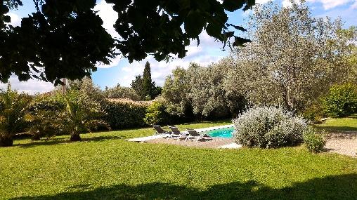 jardin arboré de l'Escale Provençale