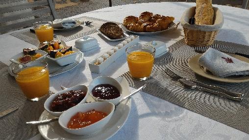 Petits déjeuners offerts