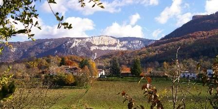 Relais de Chateau Gaillard Le Royans Vercors en Automne