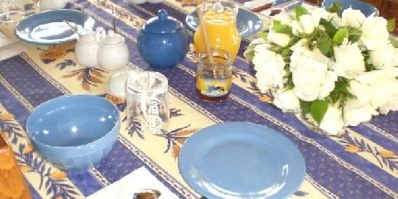 La Farigoule  en Provence Le petit déjeuner