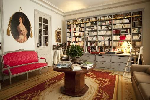 Chambre d'hote Gironde - Bibliothéque