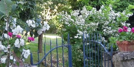 Chambre Hôtes La Maline Portillon d'accès au jardin