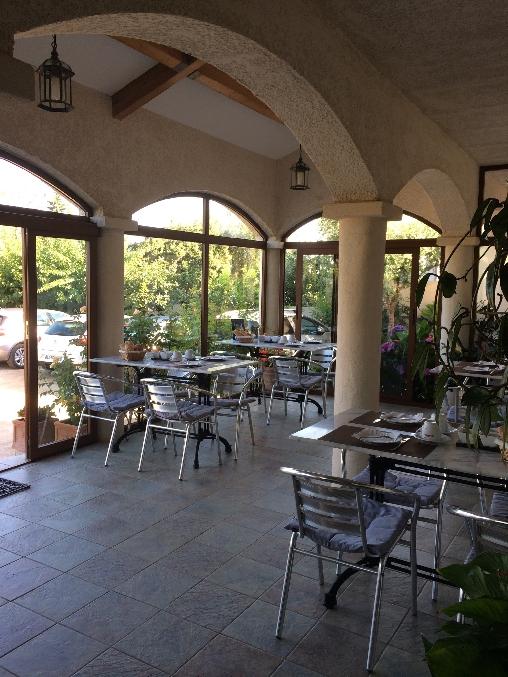 Chambre d'hote Corse 2A-2B - terrasse petit déjeuner