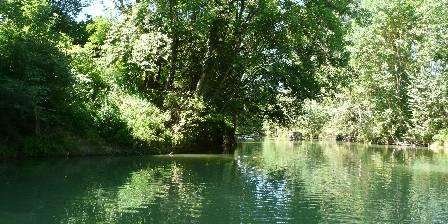 Domaine Arros Promenade en barque sur l'Arros