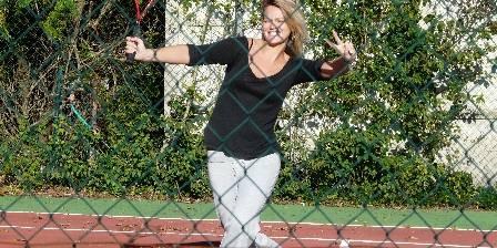 Domaine Arros Joueuse de tennis, octobre 2009