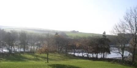 Auberge de Bel Air La rivière vue des chambres