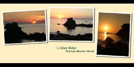 Auberge de Bel Air Coucher de soleil sur la mer d'Iroise