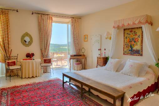 Bed & breakfasts Drôme, from 90 €/Nuit. Castle, Montboucher sur Jabron (26740 Drôme), Charm, Guest Table, Swimming Pool, Garden, Park, Net, WiFi, T.V., Baby Kits, Parking, Air-Conditioning, 7 Double Bedroom(s), 23 Maxim...
