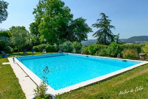 Le castel du mont bois une chambre d 39 hotes dans la - Chambre d hote dans la drome avec piscine ...