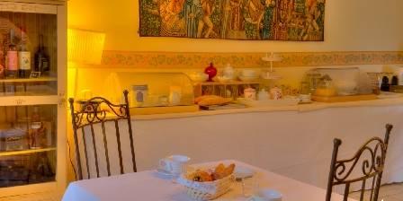 Le Castel du Mont Boisé Salle de petits dejeuneurs