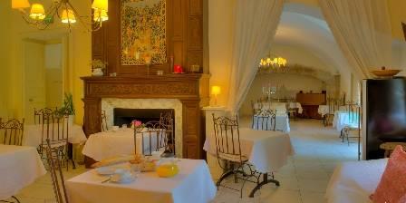 Le Castel du Mont Boisé La salle de restaurant