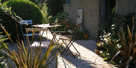 Le jardin sauvage L'une des terrasses