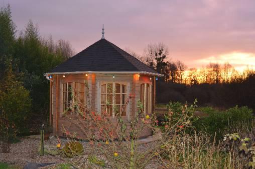 Chambre d'hote Pas-de-Calais - le kiosque du jardin