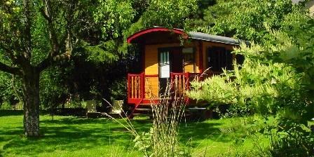La Jument Verte Chambres d'hôtes La Roulotte pour un séjour insolite tout confort