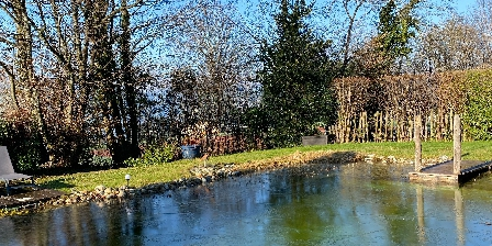 La Jument Verte Chambres d'hôtes LA piscine en hiver ;-)