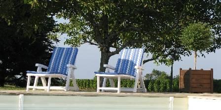 Le domaine des Gauliers La piscine au coeur du vignoble