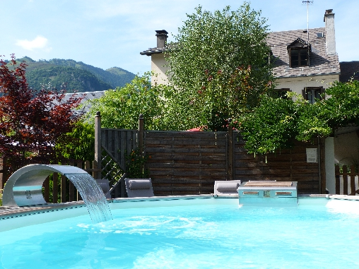 bed & breakfast Haute-Garonne - warm swimming pool