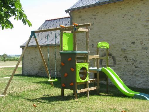 L'aire de jeux du Domaine des Gauliers, en Anjou