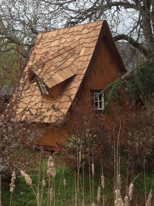 Le drôle abri de jardin du Domaine des Gauliers