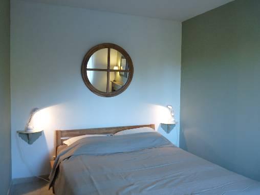 La seconde chambre avec son lit double